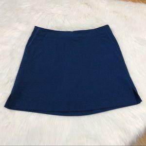 Lady Hagen Navy Blue Golf Skort Size 6